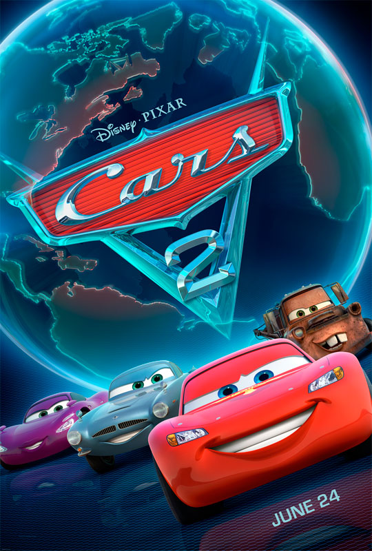 Star racecar Lightning McQueen and the incomparable tow truck Mater take their friendship to exciting new places in Cars 2 when they head overseas to compete in the first-ever World Grand Prix to determine the world's fastest car