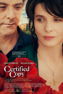 Certified Copy is about a middle-aged English writer, while in Tuscany to promote his latest book, meets a French woman who leads him to the village of Lucignano.