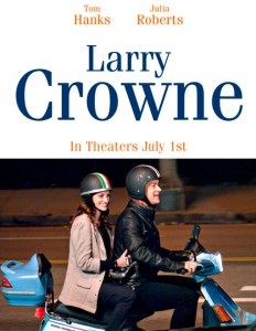 Summit Entertainment originally intended to distribute Larry Crowne in the United States and Canada, but Universal Pictures claimed the distribution rights. Optimum Releasing will release the film in the United Kingdom.