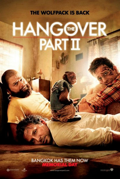 The Hangover Part II principal photography began on October 8, 2010 in Ontario, California with the first images of production being released a few days later.