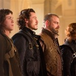 (L-R) LOGAN LERMAN, LUKE EVANS, RAY STEVENSON AND MATTHEW MACFADYEN star in THE THREE MUSKETEERS 3D