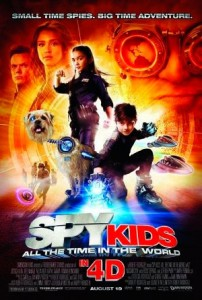 Spy Kids: All the Time in the World estimated budget is $40,000,000