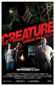 Creature is based on a novel written by Fred M. Andrews and Tracy Morse