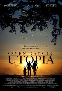 Seven Days in Utopia is the inspirational drama sport film directed by Matt Russell, starring Robert Duvall, Lucas Black, and Melissa Leo.