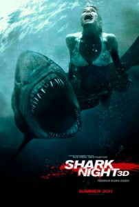 The film was originally titled Shark Night 3D, but Ellis has stated he would rather have the title be Untitled 3D Shark Thriller. However, in March 2011, Box Office Mojo indicated that the title had gone back to Shark Night 3D