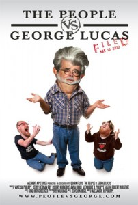 The People vs. George Lucas combines filmmaker and celebrity interviews with fan films which were submitted via the film's site