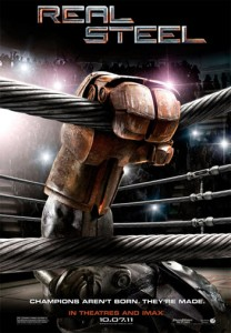 Real Steel is scheduled to be released on October 7, 2011. It was initially scheduled for release on November 18, 2011, but moved earlier to avoid competition with the first part of The Twilight Saga: Breaking Dawn.