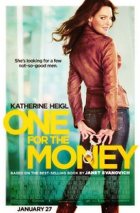 One for the Money, starring Katherine Heigl is based on the 1994 novel of the same name, written by Janet Evanovich