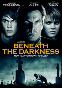 "Beneath the Darkness: After the death of his best friend, 16-year-old Travis struggles to expose the grim secrets surrounding a ""haunted house""."
