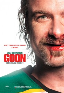 Goon was filmed in Brandon, Portage La Prairie and Winnipeg, Manitoba, Canada.