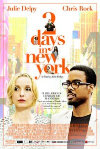 2 Days in New York premiered at the Sundance Film Festival on January 23, 2012. The film was shown April 26, 2012 at the Tribeca Film Festival and May 21, 2012 at the Seattle International Film Festival.