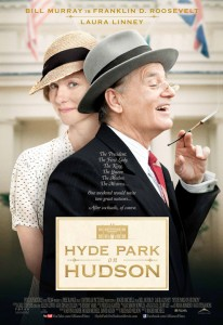 Prior to the start of filming the 1939-set Hyde Park on Hudson, director/producer Roger Michell immersed himself in research at the Library and Museum; stars Bill Murray and Laura Linney and screenwriter Richard Nelson spent time there as well, and toured all of the grounds and buildings.