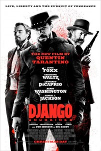 It was originally reported that Will Smith was Tarantino's first choice for the role of Django, but in the end Jamie Foxx was cast for the role. Additionally, Franco Nero was rumored for the role of Calvin Candie. Kevin Costner was in negotiations to join as Ace Woody, but dropped out due to scheduling conflicts. Kurt Russell was cast instead, but also later left the role. When Kurt Russell dropped out, the role of Ace Woody was not recast but instead the character would be merged with Walton Goggins' character, Billy Crash.