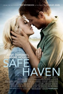 Safe Haven reunites Sparks with director Lasse Hallström and producers Marty Bowen and Wyck Godfrey for the first time since their successful collaboration on 2010's Dear John.