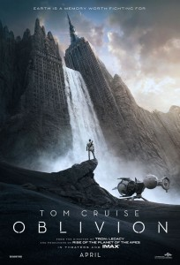 Oblivion marks the first time that superstars Tom Cruise and Morgan Freeman have been paired opposite one another, and the producers knew the film offered the perfect opportunity.