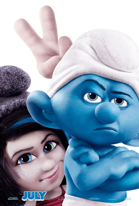 In The Smurfs 2, as Smurfette deals with her unresolved feelings toward her origins, so too will Patrick Winslow have to address his own relationship with Victor Doyle, the man who raised him.