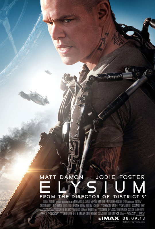 Elysium asks important questions about where we are now in a context of where we are going.