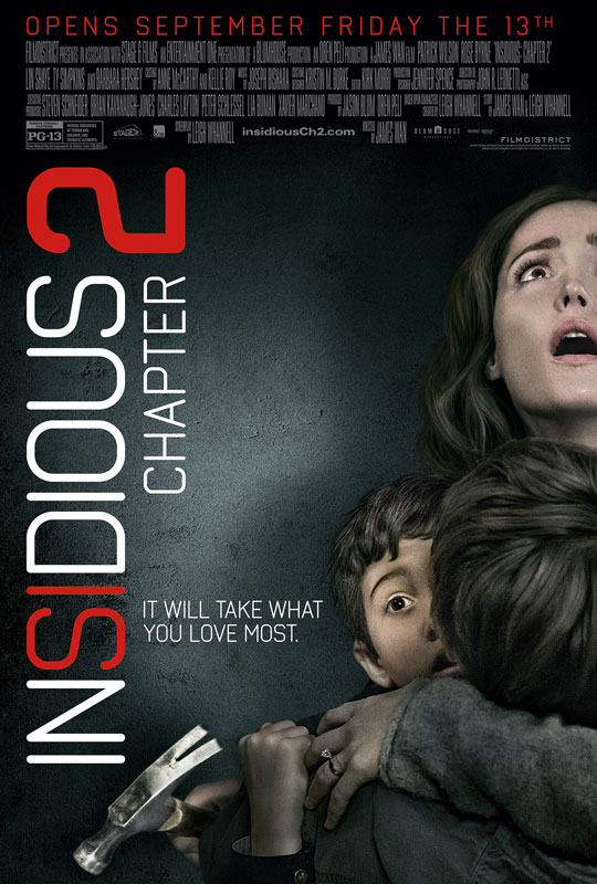 In addition to picking up the tale of the Lambert family where the original left off, Insidious: Chapter 2 explores a larger mythology and backstory for the characters.