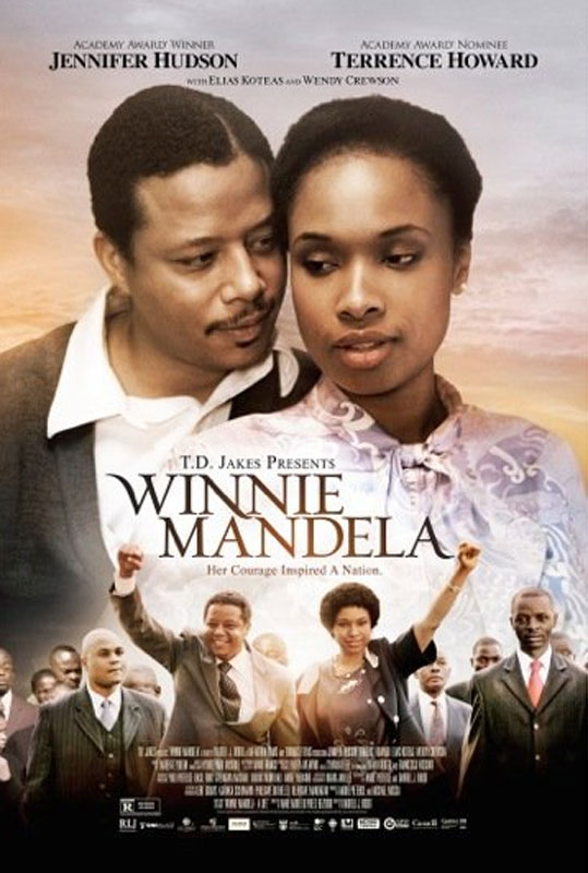 Winnie Mandela criticized the fact that she was not consulted for the making of a film about her life,