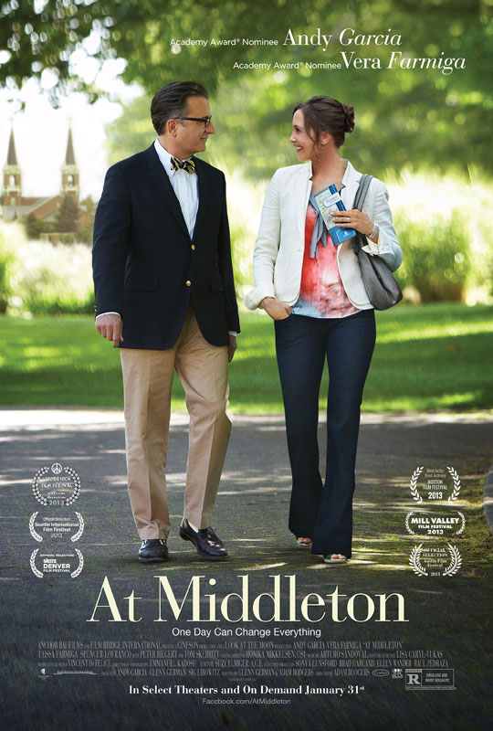 At Middleton premiered at the Seattle International Film Festival on May 17, 2013