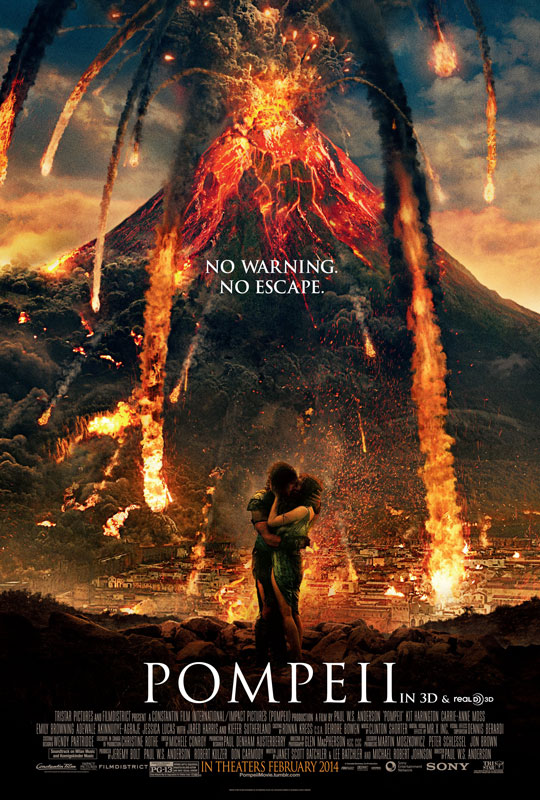 Before they began principal photography at Toronto's Cinespace Studio, the filmmakers began by constructing an astonishing glimpse of Pompeii in 79 A.D. through fastidiously researched production design, wardrobe and visual effects.