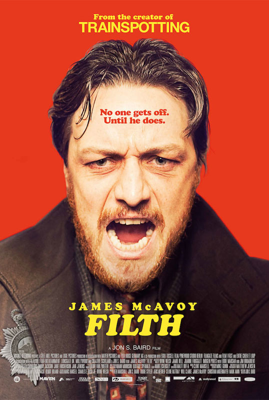 The filmmaker met Irvine Welsh at the June 2008 launch of the unofficial sequel to FILTH, Crime, which follows Ray Lennox, one of the supporting characters from FILTH (played by Jamie Bell), after he becomes a Detective Inspector.