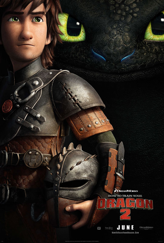 In the thrilling second chapter of the epic trilogy How to Train Your Dragon 2, five years have passed since the heroic young Viking Hiccup (Jay Baruchel) befriended an injured dragon and forever changed the way the residents of Berk interact with the fire-breathers. Now, Vikings and dragons live side-by-side in peace on the fantastical isle that has been transformed into a dragon's paradise.