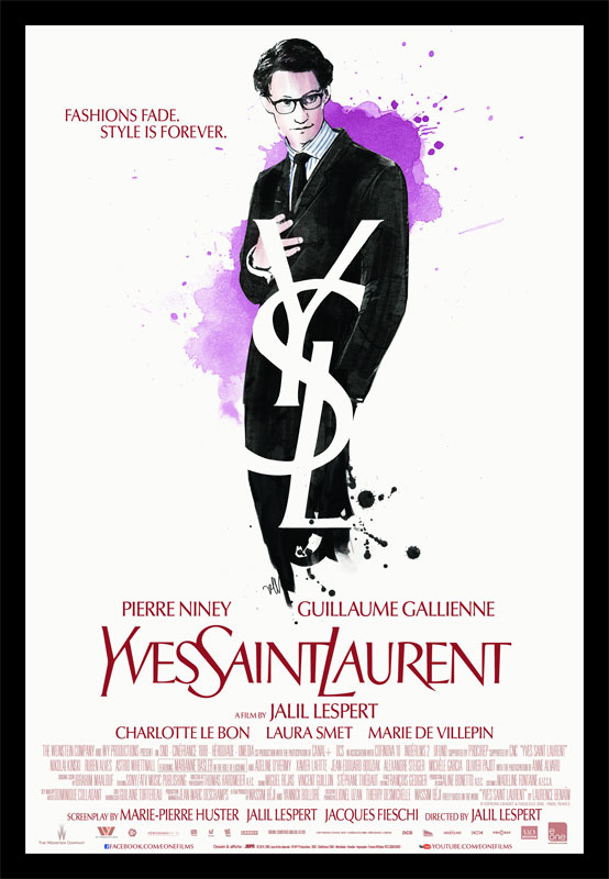 What moved me about that story is that it portrays two brilliant characters, including a genius with all that it entails in terms of flaws and wounds. Moreover, Yves was manic-depressive and diagnosed as such by doctors. - DIRECTOR JALIL LESPERT