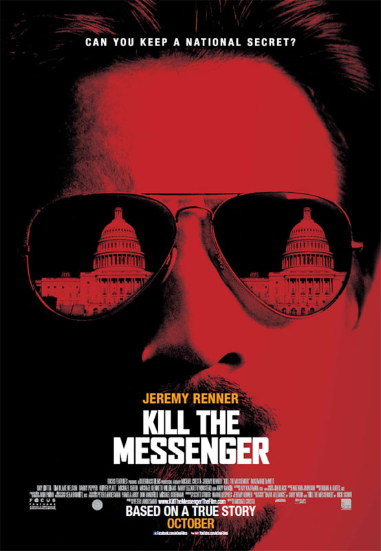 "Journalist Nick Schou, the author of Kill the Messenger, one of the books on which the film is based, came into contact with Webb soon after the ""Dark Alliance"" series was published, since their investigative work overlapped."