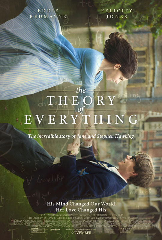 "The challenge of the physical demands required to play Stephen Hawking loomed large. As Eddie Redmayne's friend and fellow actor – and, soon, The Theory of Everything cast member – Charlie Cox said when Redmayne told him about the role, ""You have no option but to give it 3,000%."""