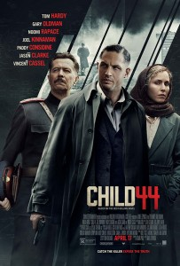 Child 44's climactic showdown in Rostov at the Rostelmach Factory, home base for the serial killer, was shot amid the industrial landscapes of Králuv Dvur and Hrádek u Rokycan.
