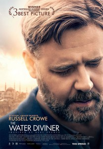 Although barely one fifth of the story of THE WATER DIVINER takes place in Australia, it was the base for nearly three quarters of the shooting of the film.
