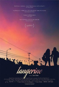 The premise of Tangerine grew out of the in-depth conversations director Sean Baker and co-screenwriter Chris Bergoch had with Mya Taylor, a local African-American transgender woman  and her friend Kitana Kiki Rodriguez.