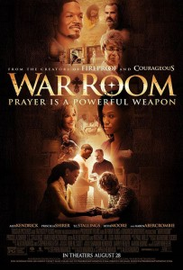 WAR ROOM is the Kendricks' first project independent of Sherwood Pictures, the movie ministry of Sherwood Baptist Church. Kendrick Brothers Productions was formed with the blessing and support of the Sherwood family, however, where they remain associate pastors.