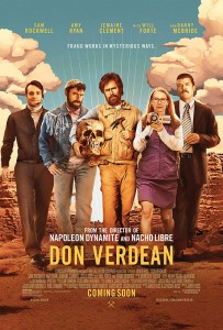 To help actor Sam Rockwell prepare for his role, director Jared Hess sent him footage of Biblical archeologists and evangelical leaders. The transformation the actor was able to effect surprised even his longtime collaborator.