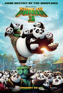 KUNG FU PANDA 3 takes full advantage of DreamWorks Animation's breakthrough technical advances, while making history as the first production to create two different films, in English and Mandarin, with the same story and characters.