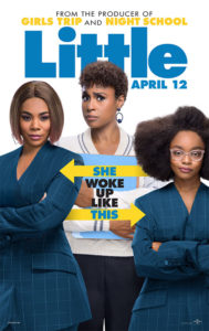 In Little, not only is the cast lead by three extraordinary black women, but Gordon and Tracy Oliver are black women, and black women were responsible for much of what audiences will see on screen.